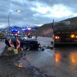 30.01. – Schwerer Verkehrsunfall